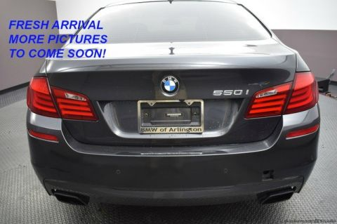 Pre-Owned 2013 BMW 5 Series 550i